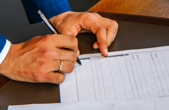 contract en bestuurlijke boete